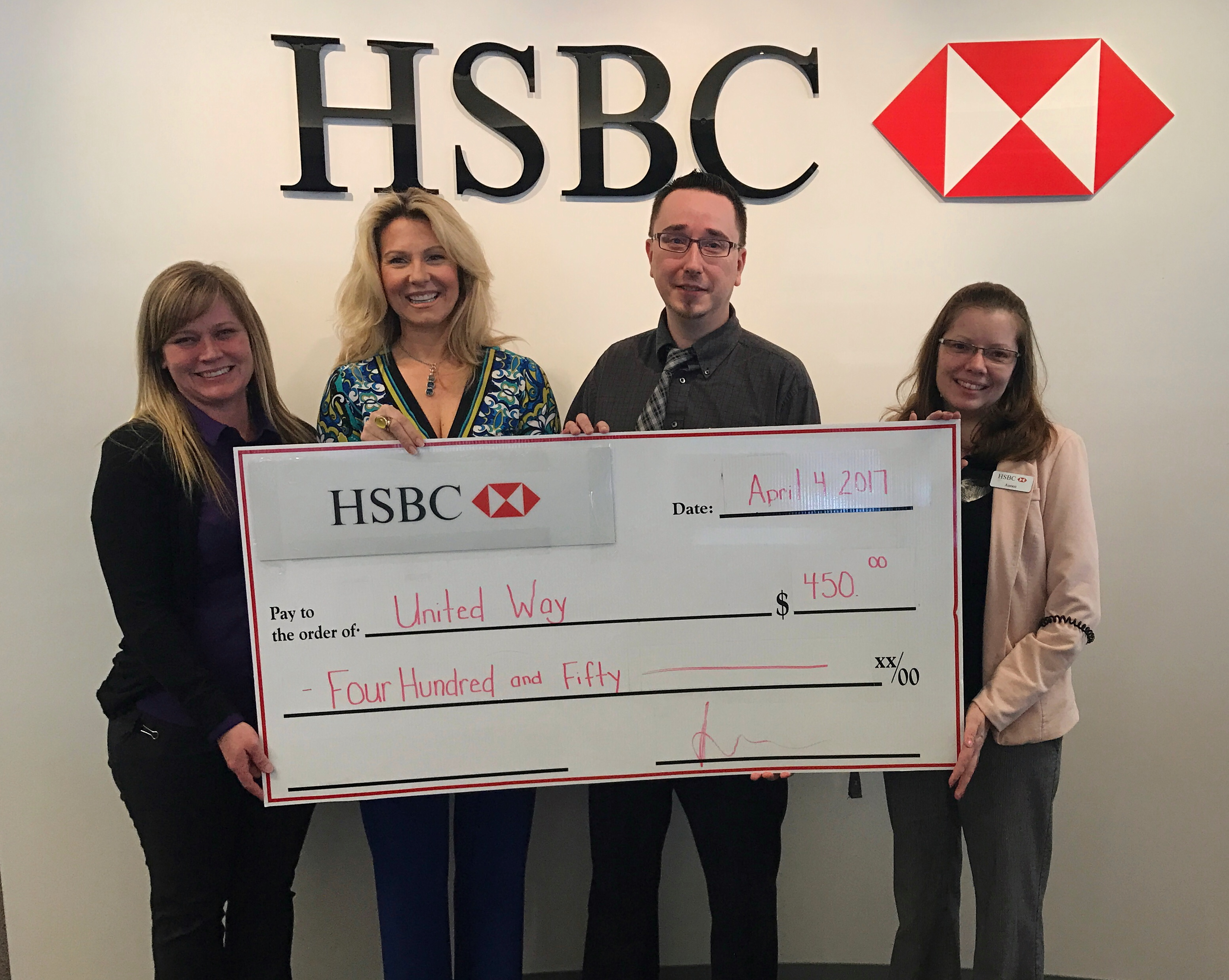 HSBC Prince George Sweetens Support of Local Issues